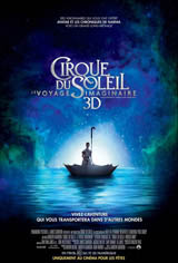 Cirque du Soleil : Le voyage imaginaire Affiche de film