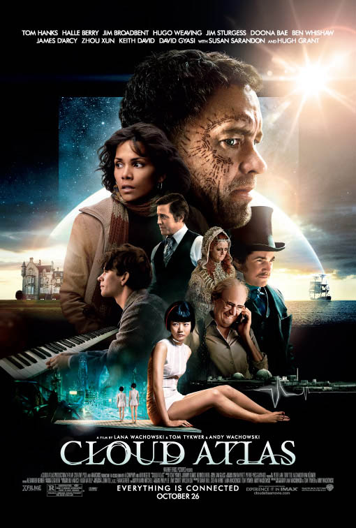Cloud Atlas official Movie Poster