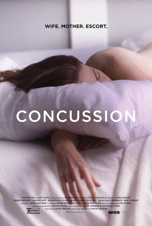 Concussion (2013) Large Poster