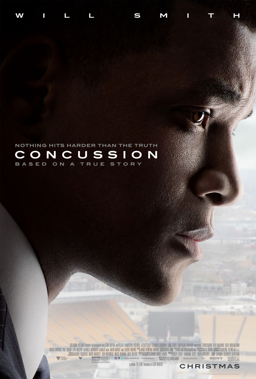 Concussion Large Poster