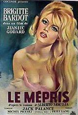 Contempt (Le mépris) Movie Poster