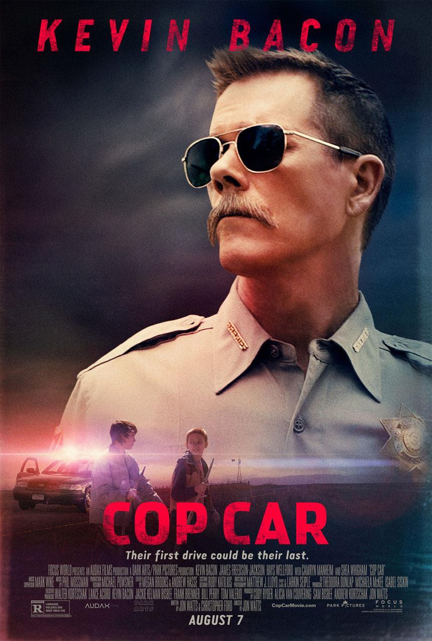 Cop Car Large Poster