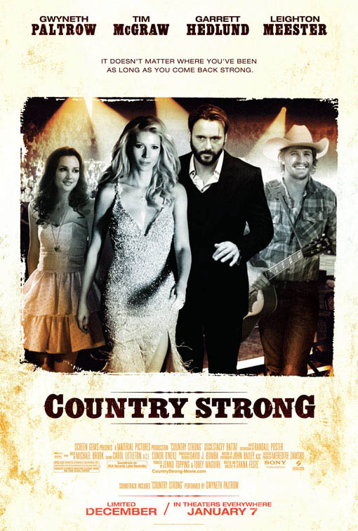 Country Strong Large Poster