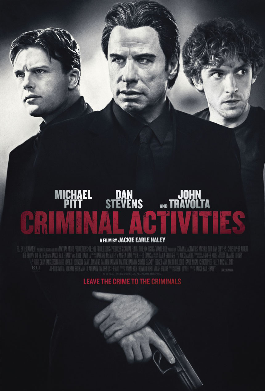 Criminal Activities Large Poster