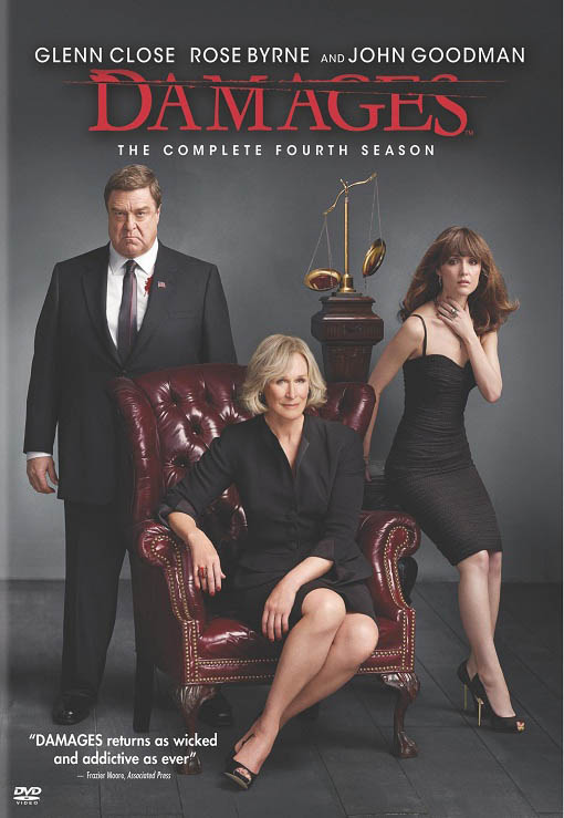 Damages: The Complete Fourth Season International Movie Poster