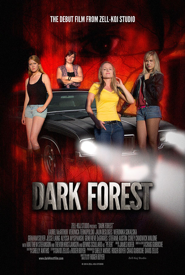 Dark Forest Large Poster
