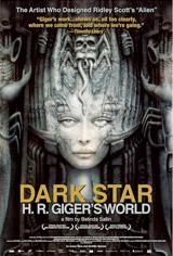 Dark Star: H.R. Giger's World Movie Poster