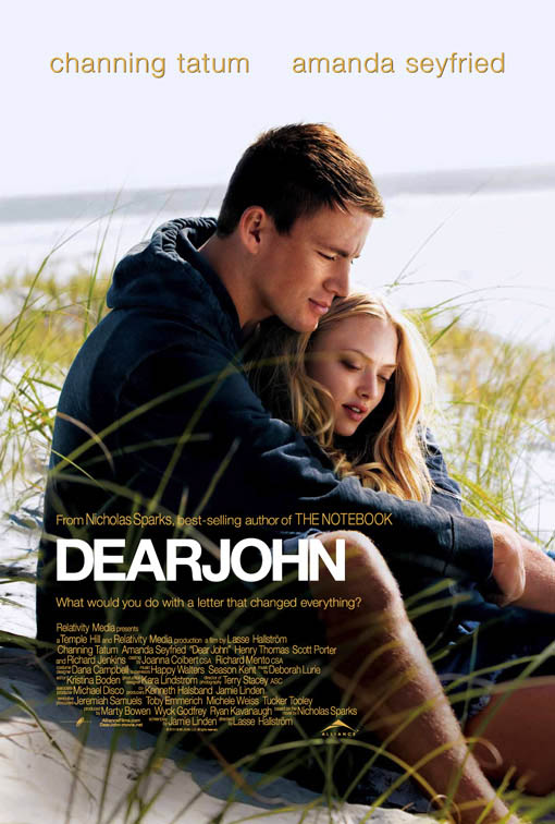 Dear John official Movie Poster