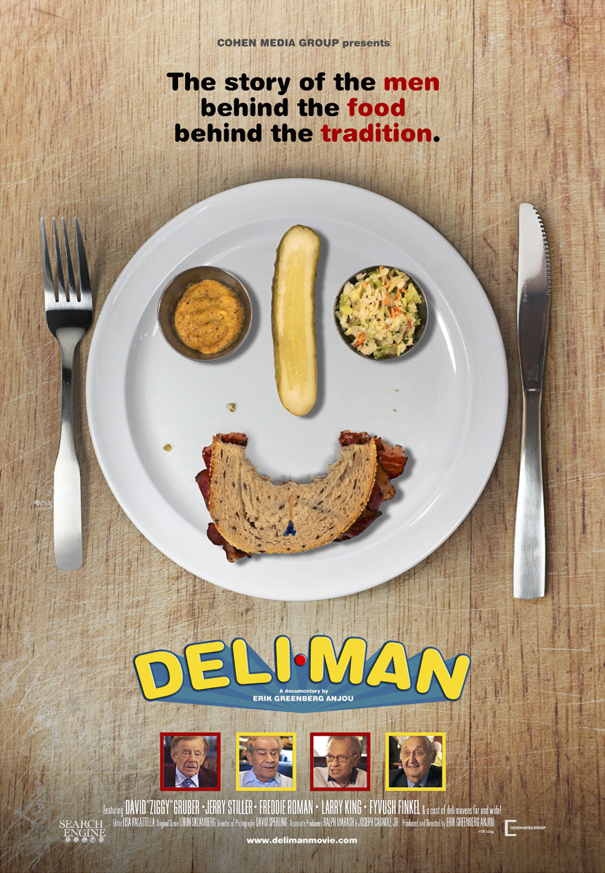 Deli Man Large Poster
