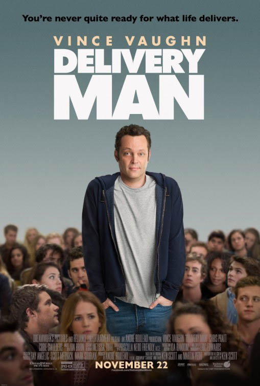 Delivery Man Large Poster