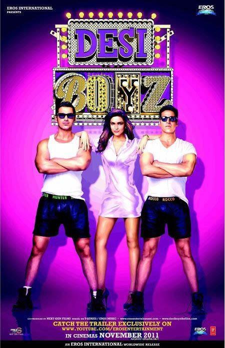 Desi Boyz Large Poster