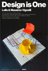 Design is One: Lella & Massimo Vignelli Movie Poster