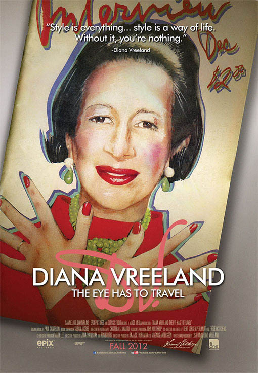 Diana Vreeland: The Eye Has to Travel Large Poster