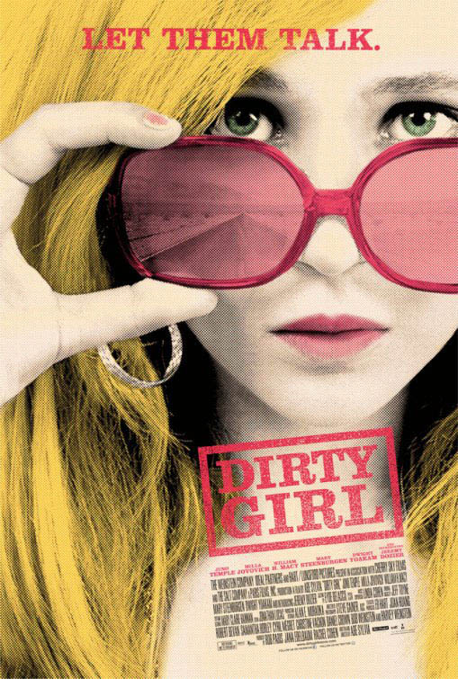 Dirty Girl Large Poster