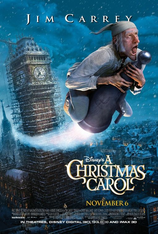 Disney's A Christmas Carol Large Poster