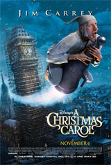 Disney's A Christmas Carol 3D Movie Poster
