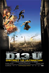 District 13: Ultimatum Movie Poster