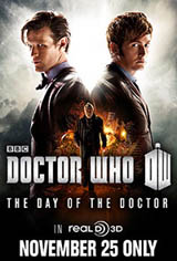 Doctor Who: The Day of the Doctor Movie Poster