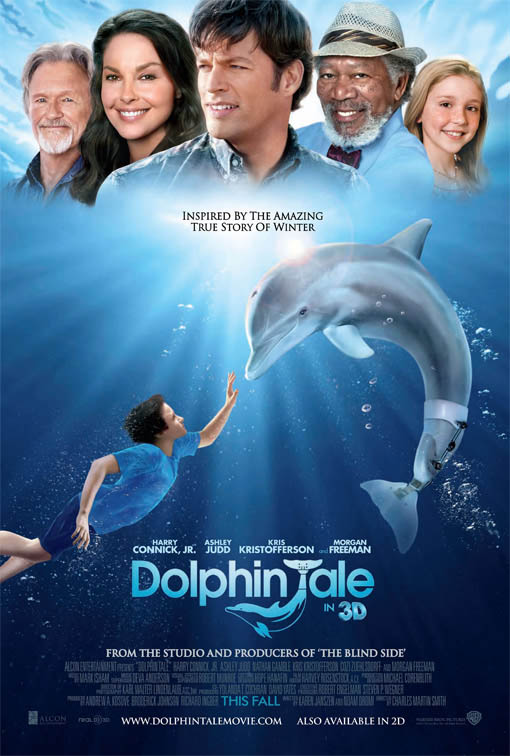 Dolphin Tale official Movie Poster