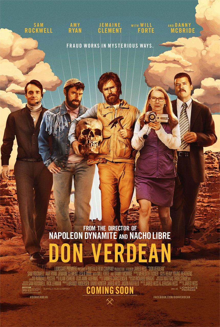 Don Verdean Large Poster