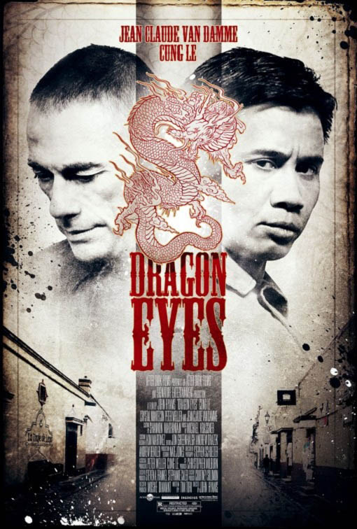 Dragon Eyes Large Poster