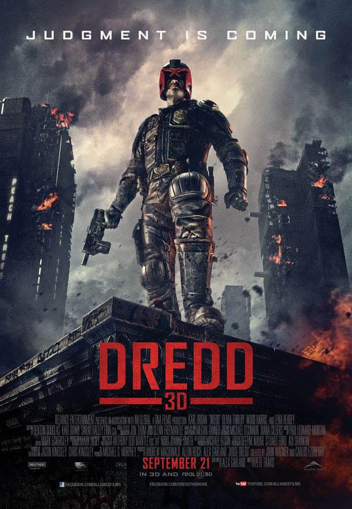 Dredd Large Poster