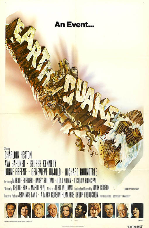 Earthquake Large Poster