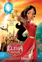 Elena of Avalor: Ready to Rule Movie Poster
