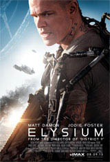 Elysium: The IMAX Experience Movie Poster