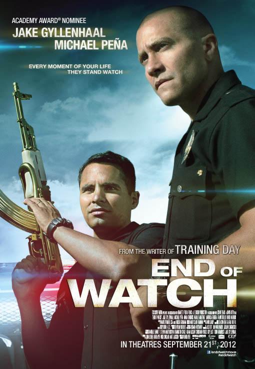 End of Watch Movie Poster End of Watch Movie Poster
