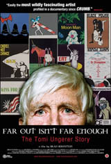 Far Out Isn't Far Enough: The Tomi Ungerer Story Movie Poster