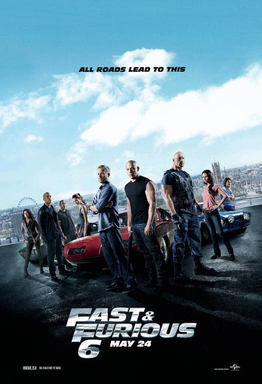 Fast & Furious 6 Large Poster