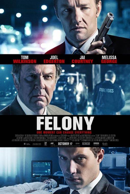 Felony Large Poster