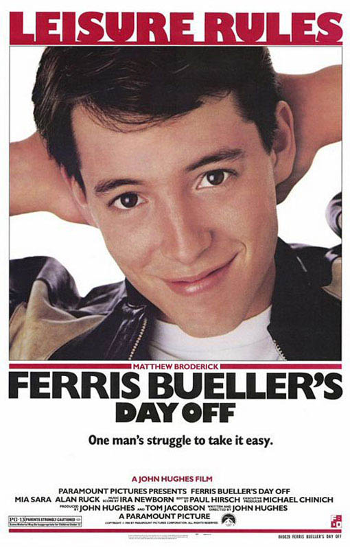 Ferris Bueller's Day Off Large Poster