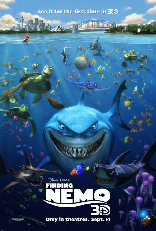 Finding nemo 3d on dvd movie synopsis and info for Fish tank full movie