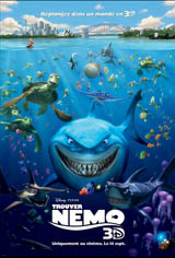 Trouver Nemo 3D Movie Poster