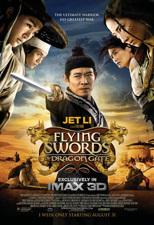 Flying Swords of Dragon Gate Large Poster