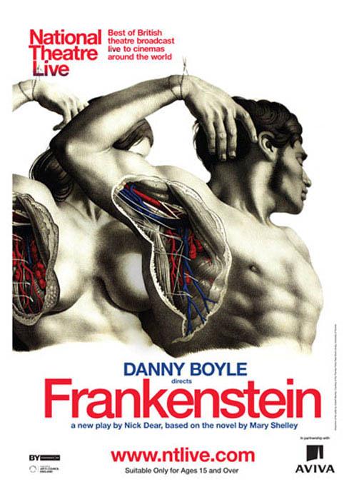 danny boyle frankenstein poster. oscar winner danny boyle