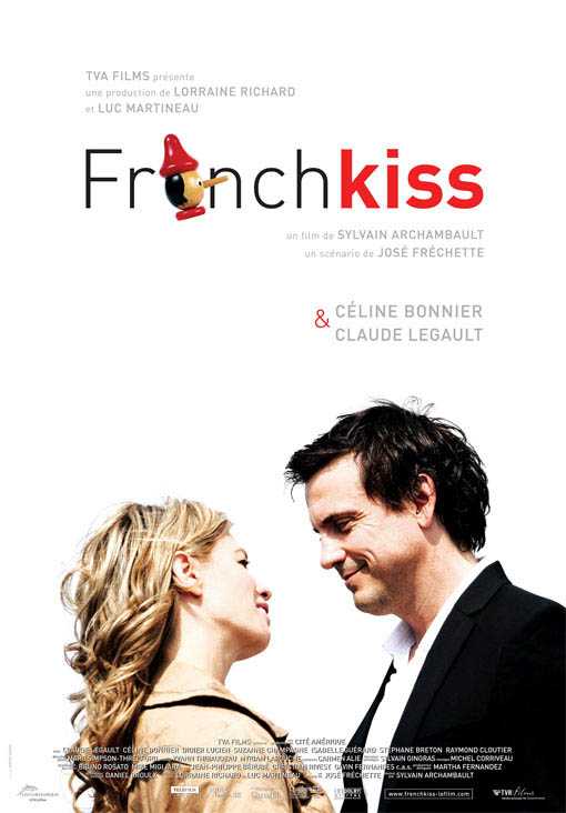 French Kiss Large Poster