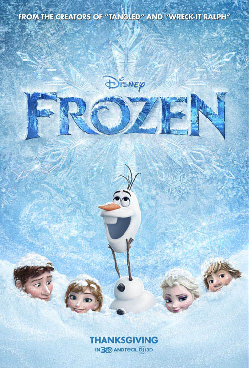 Frozen Large Poster