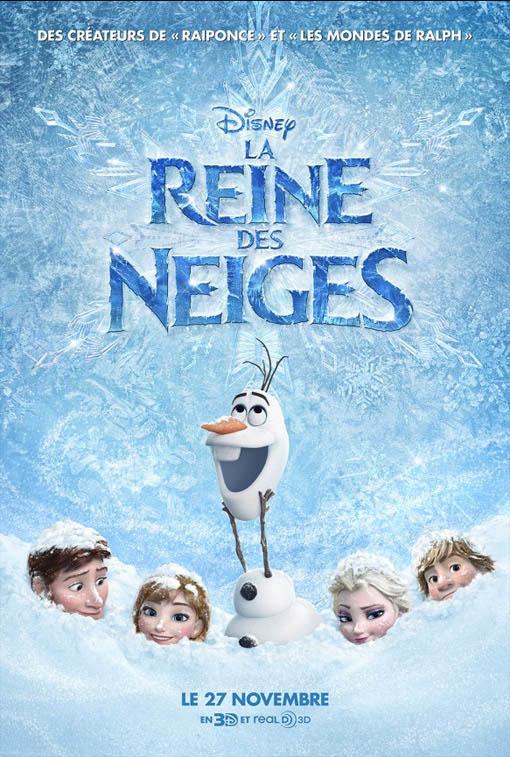 La reine des neiges poster - Film en streaming la reine des neiges ...