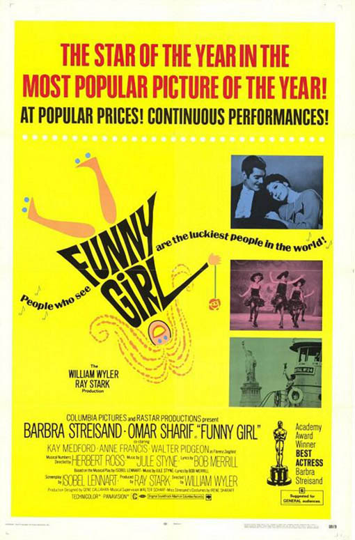 Funny Girl Large Poster