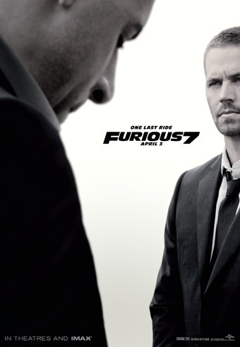 Furious 7 Large Poster