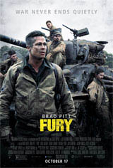 Fury Movie Poster