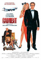 Gambit (2013) Movie Poster