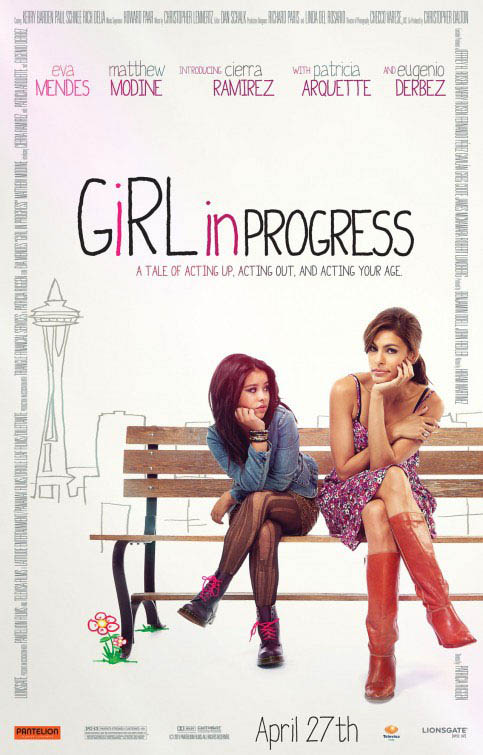 Girl in Progress Large Poster