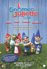 Gnoméo et Juliette 3D Movie Poster