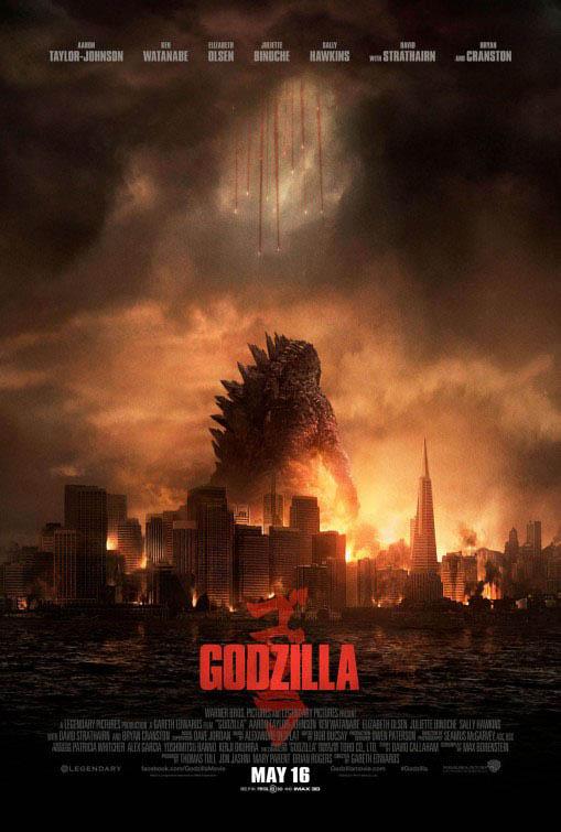 Godzilla Large Poster