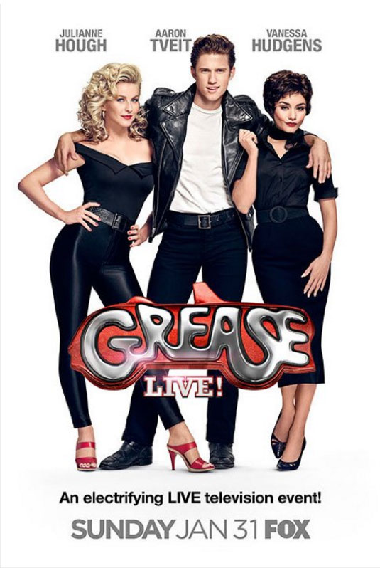 Grease Live! Large Poster
