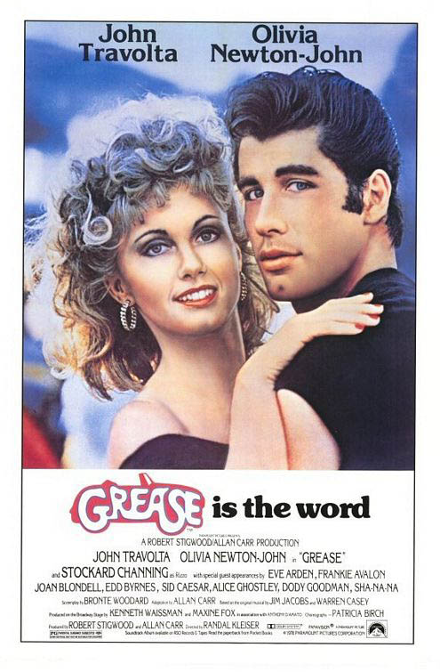 Grease Large Poster